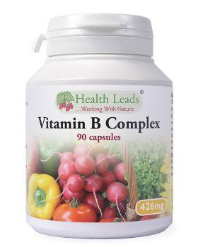 Health Leads Vitamin B-complex 426 mg x 90 capsules