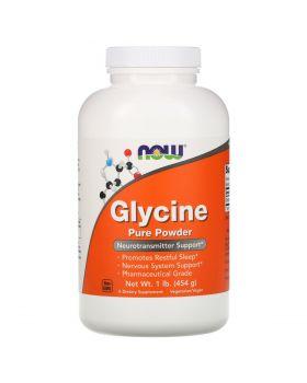 Now Foods Glycine, pure powder 454 g