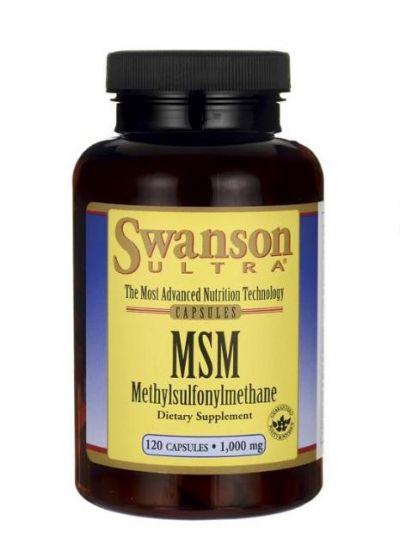 Swanson TruFlex® MSM 1000mg 120 Kapseln