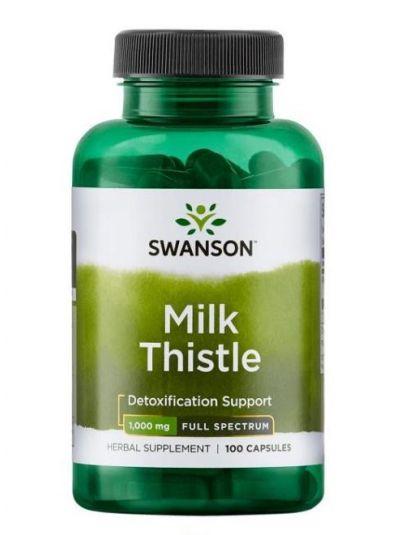 Swanson Mariendistel 1000 mg 100 Kapseln