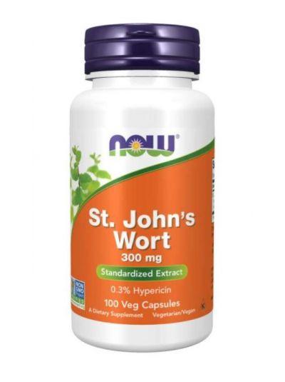 Now Foods, St. John's Wort, 300 mg, 100 Veg Capsules