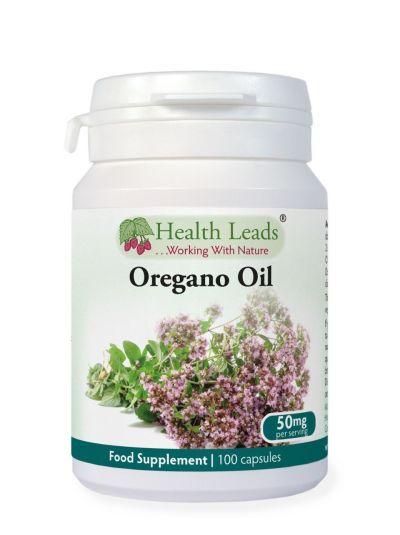 Health Leads Oregano Oil 25 mg x 100 Capsule