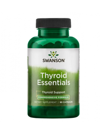 Swanson Thyroid Essentials 90 capsules