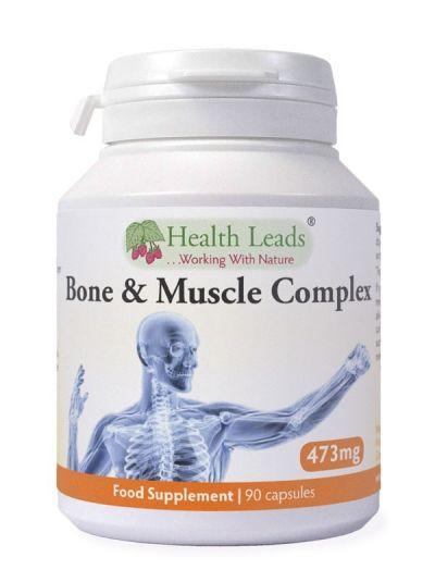 Health Leads Knochen und Muskelkomplex 473 mg 90 Kapseln