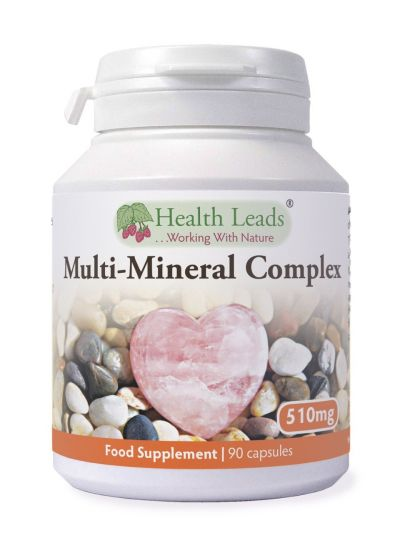 Health Leads Multi-Mineral Komplex 510 mg x 90 Kapseln