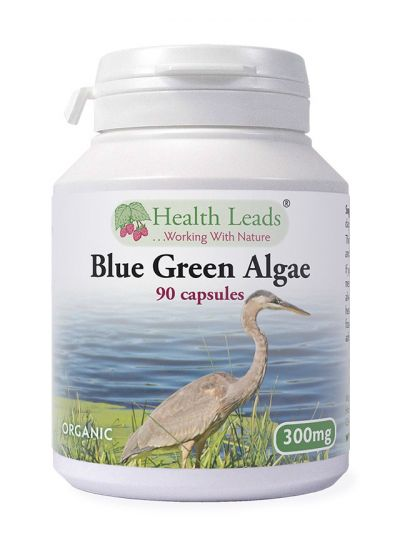 Health Leads BLUE GREEN ALGAE 300MG X 90 CAPSULES