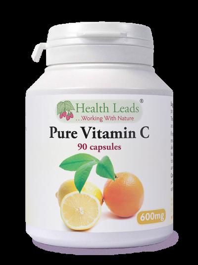 Health Leads VITAMIN C 600MG X 90 CAPSULES