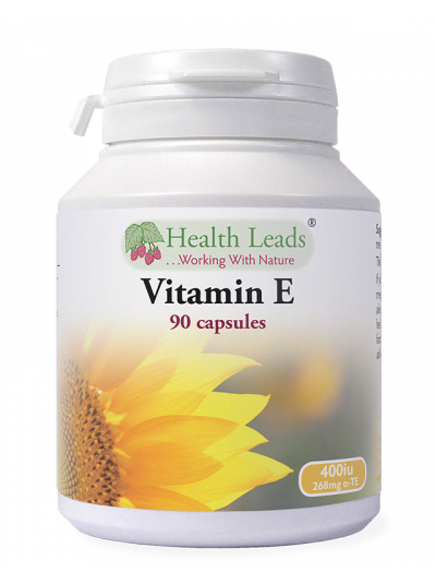 Health Leads VITAMIN E 400 IU X 90 CAPSULES