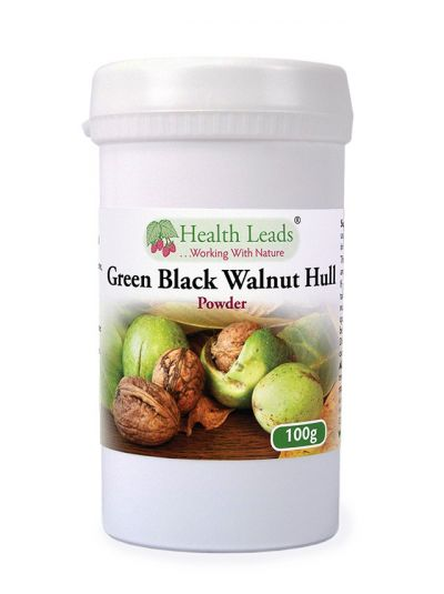 Health Leads Green Black Walnut Hull Powder 100g