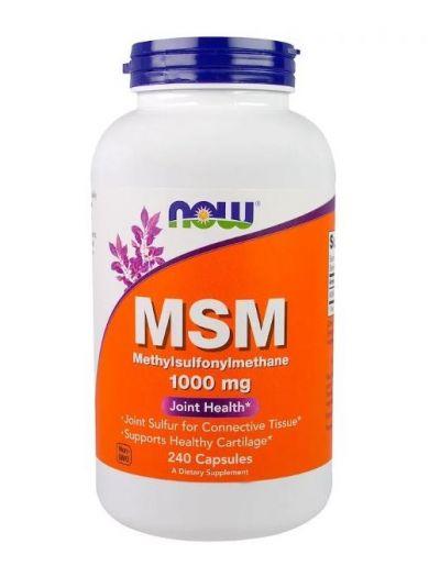 Now Foods MSM 1000 mg 240 Kapseln