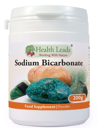 Health Leads Natriumbicarbonatpulver Soda (Lebensmittelqualität) 200g