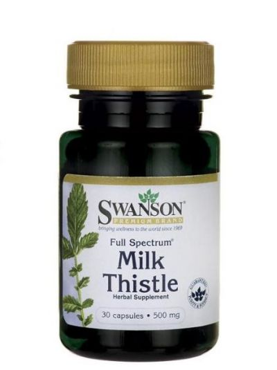 SWANSON LADY THISTLE 500 MG 30 CAPSULES