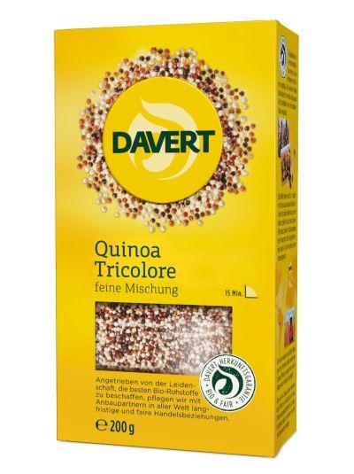 DAVERT WEISSER QUINOA TRICOLORE BIO 200