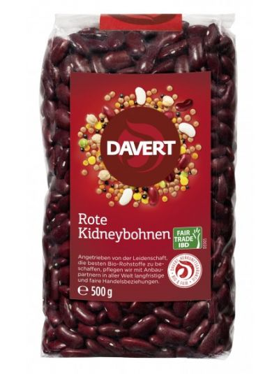 Davert Rote Kidneybohnen Fair Trade IBD 500g