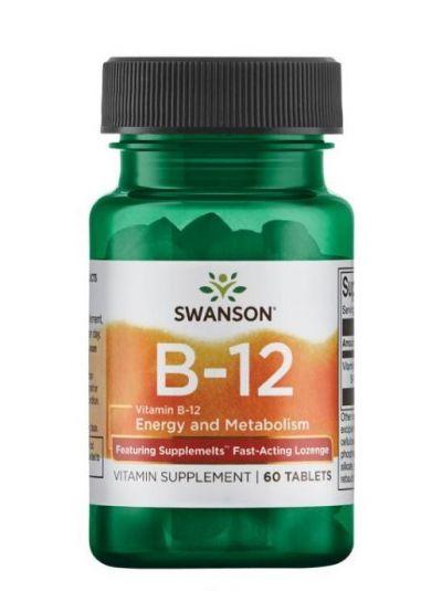 Swanson Ultra Vitamin B-12 5.000 mcg 60 Tabletten