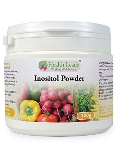 Health Leads 100% Inositol (Myo-Inositol) Powder 300g