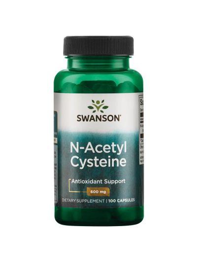 Swanson N-Acetyl Cysteine 600 mg 100 Capsules