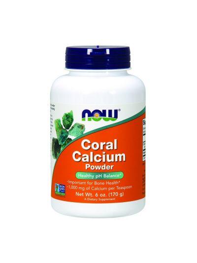Now Foods Coral Calcium Powder 170 g