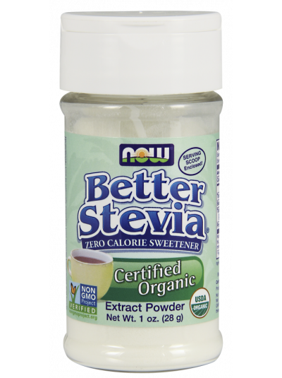 NOW Foods Better Stevia Extract Powder 28 grams