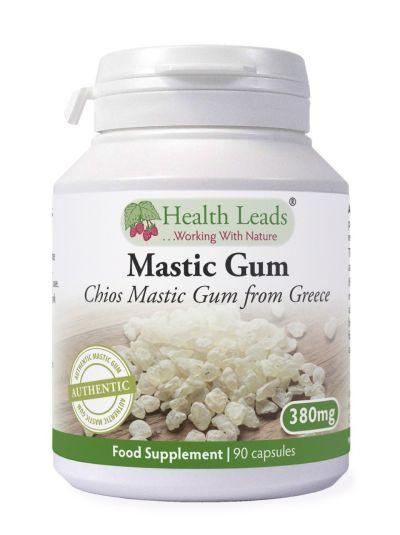 HEALTH LEADS MASTIC GUM 380 MG X 90 Capsule