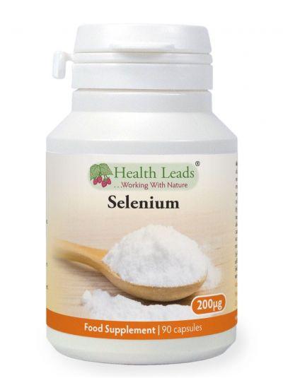 Health Leads Selenium 200 mcg 90 Capsule
