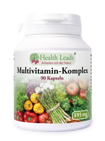 HEALTH LEADS MULTIVITAMIN-KOMPLEX 595 MG X 90 KAPSELN