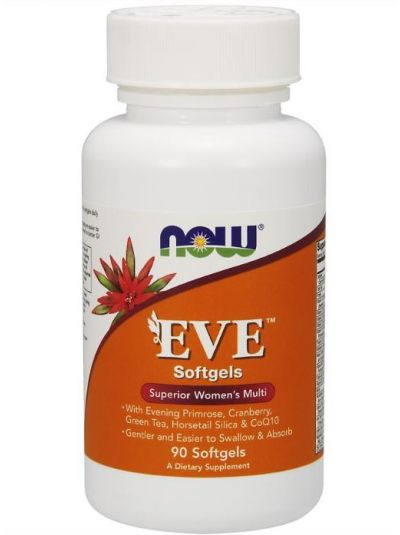 NOW FOODS EVE ERSTKLASSICHES FRAUEN MULTI 90 SOFTGELS