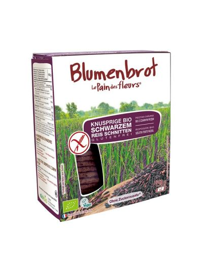 Blumenbrot Bio Knusperbrot Schwarzer Reis (150g)