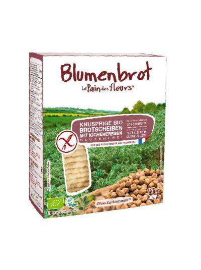 Blumenbrot Bio Kichererbsen Knusperbrot glutenfrei (150g)