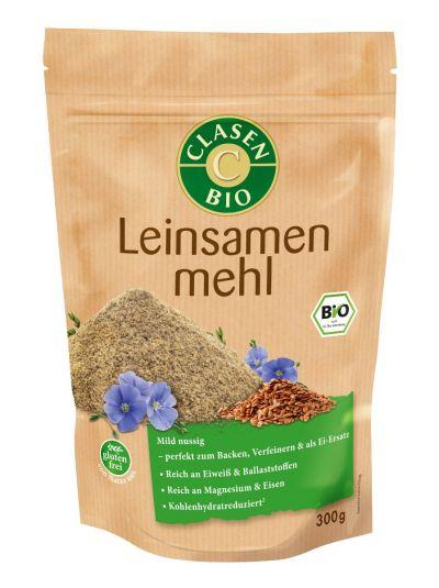Clasen Bio Leinsamenmehl 300g