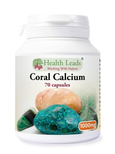 Health Leads CORAL CALCIUM 1000MG X 70 CAPSULES
