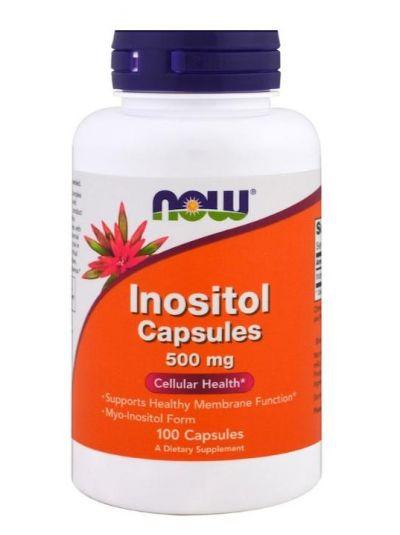 Now Foods Inositol Kapseln 500 mg 100 Kapseln