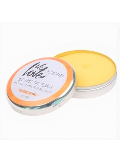 WE LOVE THE PLANET Natürliche Deocreme Original Orange