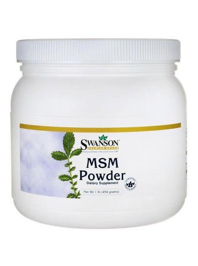 Swanson MSM Pulver 454 Gram