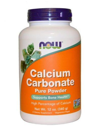 Now Foods Kalziumkarbonat-Pulver 340 g