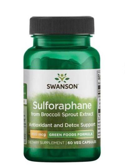 Swanson Sulforaphan aus Brokkoli sprossenextrakt 60 Kapseln