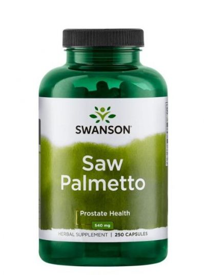 Swanson SAW PALMETTO BEERE 540 MG 250 VEG KAPSELN