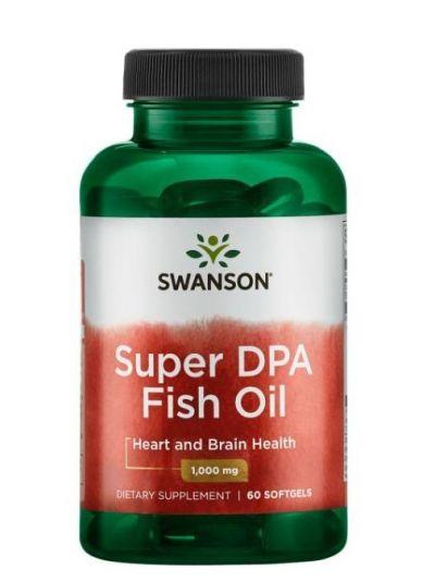 Swanson Super DPA Fischöl 1000 mg 60 Softgels