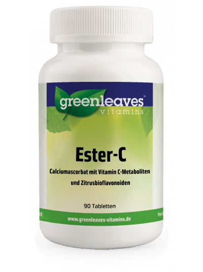 Green Leaves Vitamins Ester-c 1000 mg 90 Tabletten