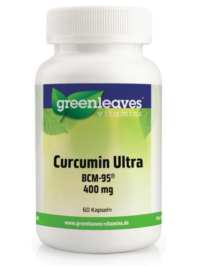 Green Leaves CURCUMIN ULTRA BCM-95® 400 mg 60 Kapseln