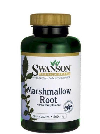 Swanson Marshmallow Root (Eibiswurzel) 500 mg 90 Kapseln