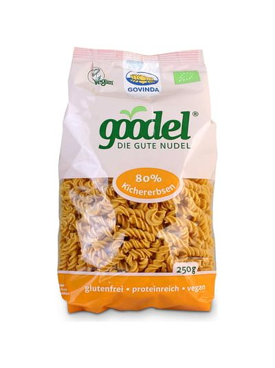 Govinda goodel Spirelli Kichererbse-Leinsaat glutenfrei BIO 250g