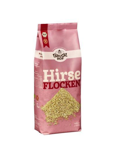 Bauckhof Demeter Vollkorn Hirseflocken, glutenfrei 500g