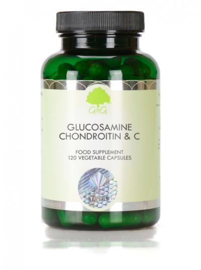 G&G Vitamins Glucosamine, Chondroitin & Vitamin C - 120 Capsules
