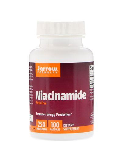 Jarrow Formulas Niacinamide, 250 mg, 100 Capsules