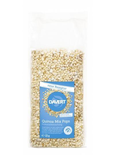 Davert Quinoa Mix Pops Glutenfrei 125g