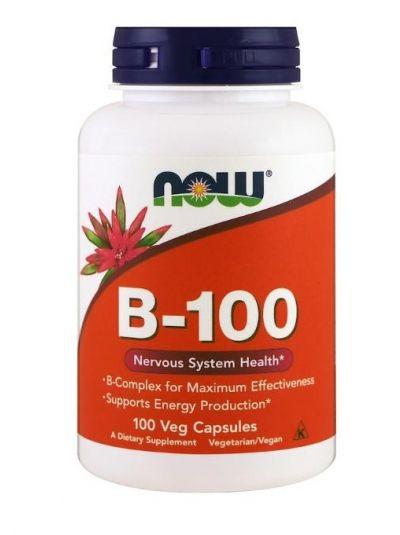 Now Foods B-100 Komplex 100 vegetarische Kapseln