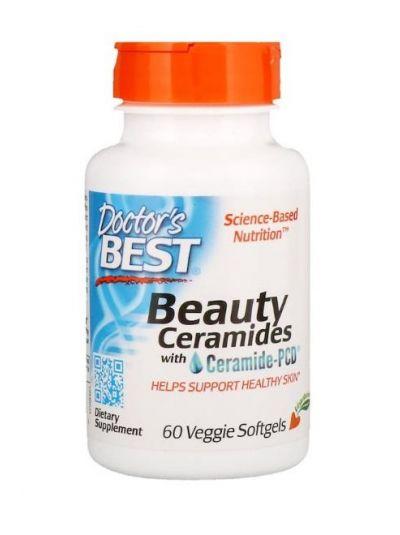 Doctor's Best Beauty-Ceramide mit Ceramid-PCD 60 Vege Kapseln