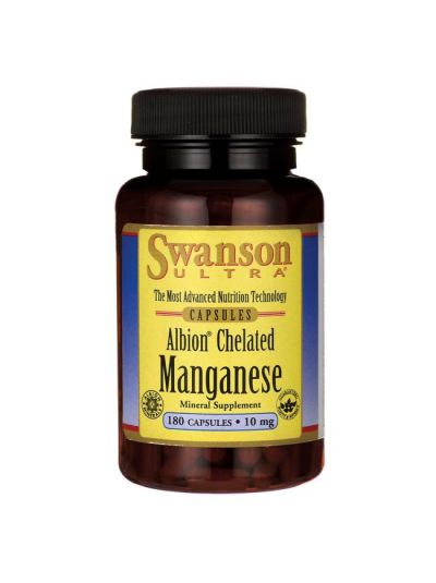 SWANSON Manganese CHELATed / ELEMENTAl 10 MG 180 capsules