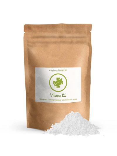 Vitalundfitmit100 Vitamin B5 (Pantothenic acid) Powder 100 g